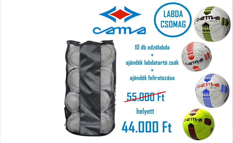 Cama edzőlabda csomag