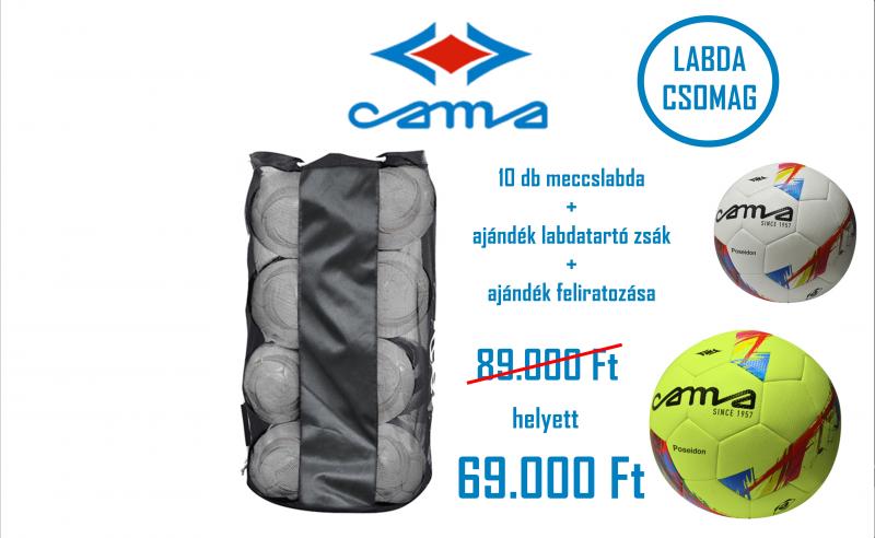 Cama meccslabda csomag
